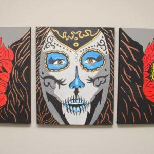 Diaz Del Muerto Painting