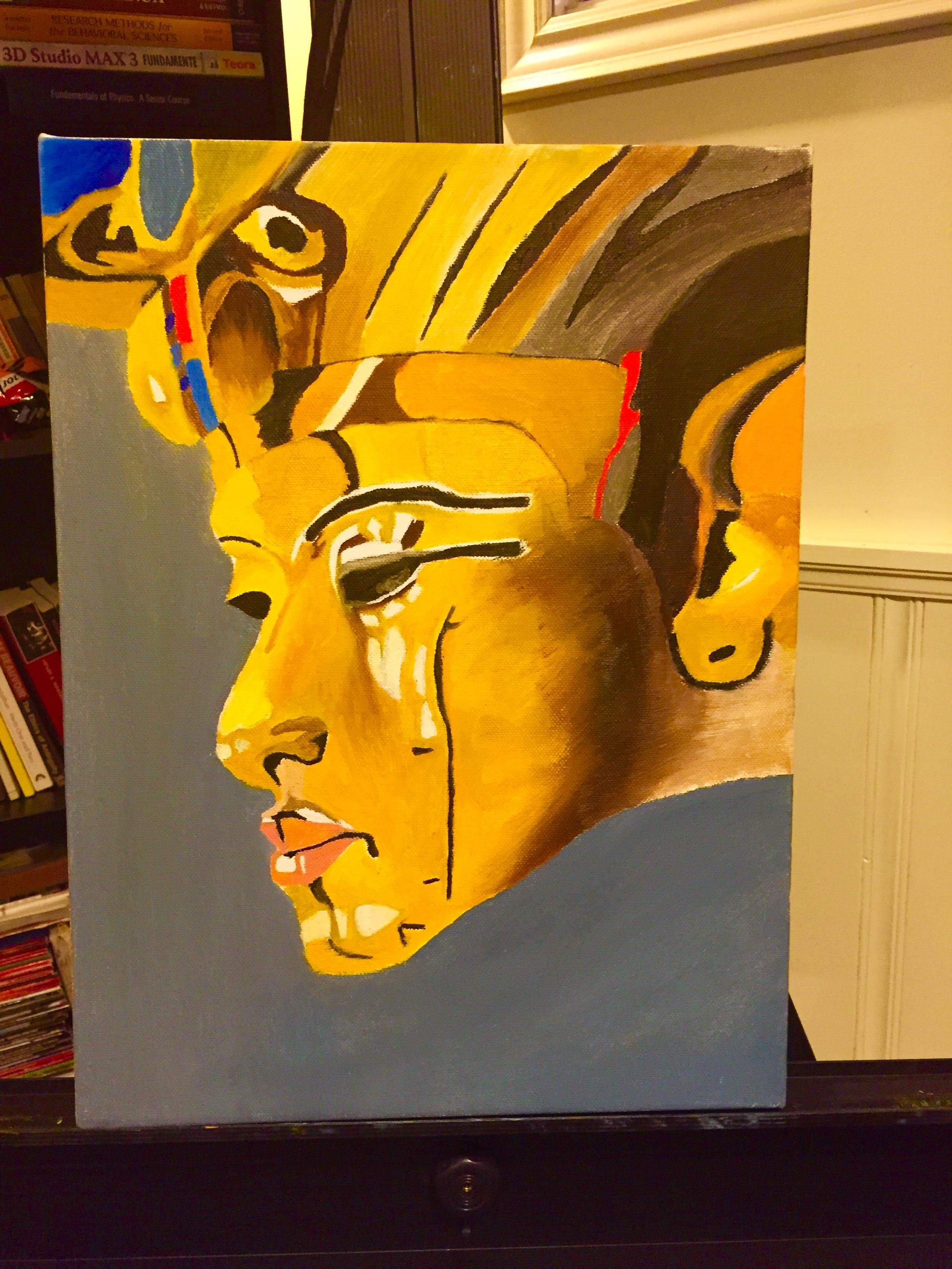 Akhenaten Painting