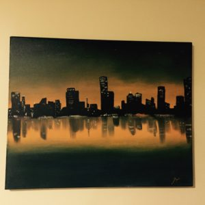 City of Lights Painting