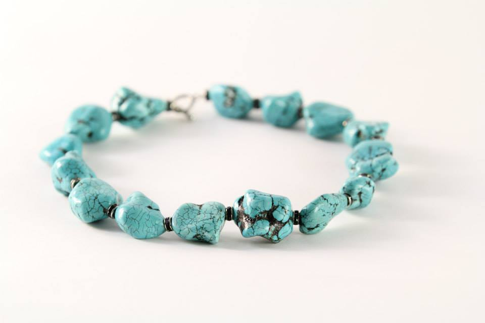 Turquoise Stones Necklace